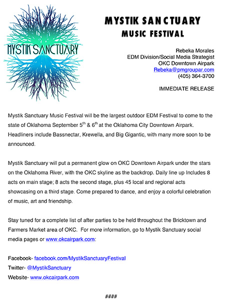 Mystic Sanctuary Music Festival