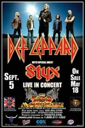 Def Leppard and Styx
