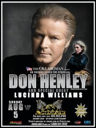 Don Henley and Lucinda Williams
