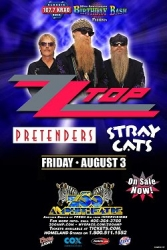 ZZ Top - Pretenders - Stray Cats