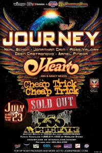 Journey - Heart - Cheap Trick