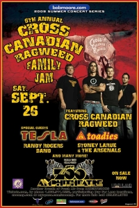 Cross Canadian Ragweed<br />Family Jam