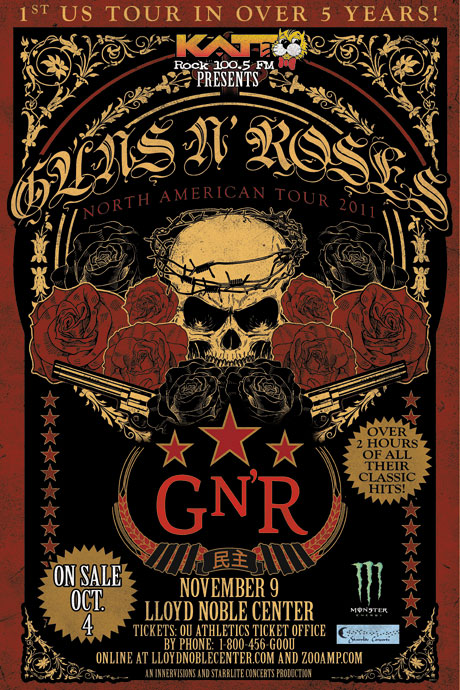 GN'R to embark on US tour in fall 2011 LNC-GNR-11-9-460