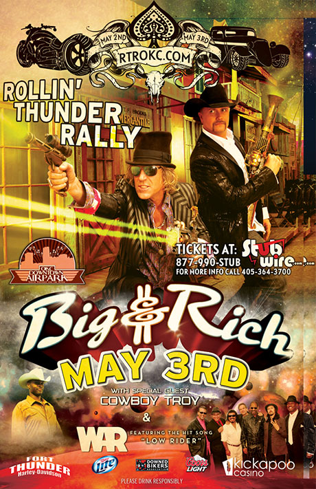 Big & Rich at OKC Downtown Airpark